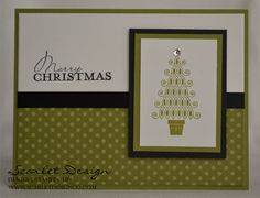 Modern Christmas by scarletdesign - Cards and Paper Crafts at Splitcoaststampers