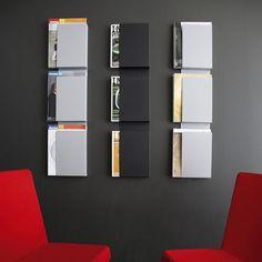 Brochure Display Wall Mount Wall-mounted Display Rack | mur ...