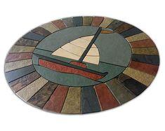 Encaustic Moroccan Tile Wall Stair Floor Self Adhesive Vinyl | Etsy Tile Decals, Vinyl Decals, Mosaic Tiles, Wall Tiles, Flooring For Stairs, Mandala, Peel And Stick Vinyl, Color Tile, Adhesive Vinyl