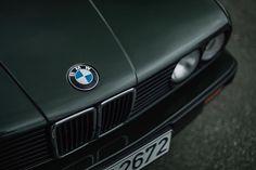 BMW E30 3 series in Malachitgrün