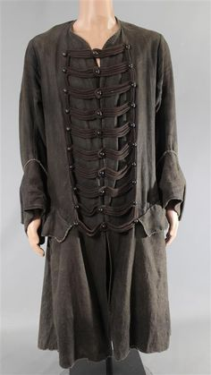 BLACK SAILS CAPTAIN FLINT TOBY STEPHENS SCREEN WORN PIRATE COAT SS 1 (1 of 3)