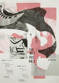 Posters 2010 - 2015 - Damien Tran #screenprinted #abstract