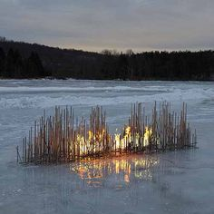Stainless Steel Seagrass by Fire Features