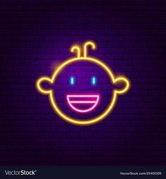 Boy face neon sign vector image on VectorStock Cute Black Wallpaper, Neon Wallpaper, Aesthetic Iphone Wallpaper, Neon Sign Art, Neon Signs, Light Art Installation, Face Illustration, Boy Face, Neon Aesthetic