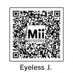 MiiCharacters.com - MiiCharacters.com - Mii Details for Eyeless Jack