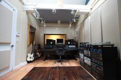Fireplace Studios. narrow room idea
