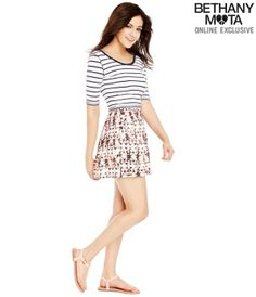 Butterfly Skort - Summer Bethany Mota Collection