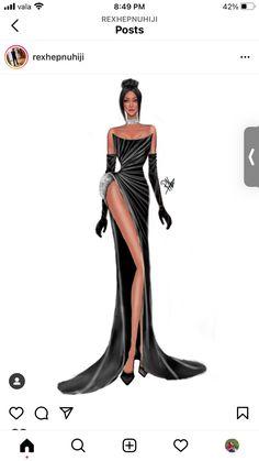 Fashion Clothes, Fashion Art, Fashion Models, Fashion Dresses, Fashion Model Sketch, Fashion Design Sketches, Fashion Illustration Sketches, Art Illustrations, Cute Swag Outfits
