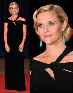 The 2012 White House Correspondents' Dinner, Reese Witherspoon in Monique Lhuillier