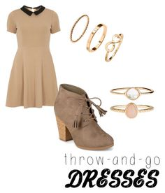 """Untitled #26"" by monkadoodles on Polyvore featuring mel, Journee Collection and Accessorize"