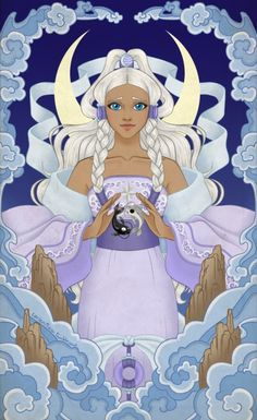 Look for the Light - Gorgeous fan art of Princess Yue - Avatar the Last Airbender.
