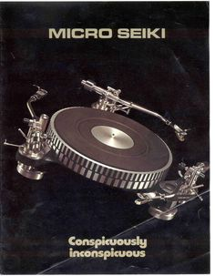 Micro Seiki Turntable $3k w/o tone arms - The age of the audiophiles