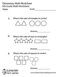 Sweet Exploring Ratios Worksheet | Worksheets, Math and Middle ...