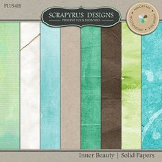Inner Beauty | Solid Papers :: Papers :: Memory Scraps