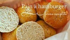 De bons ptits buns à la farine complète