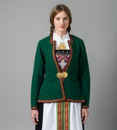 Folk Costume, Costumes, Norwegian Clothing, Traditional Outfits, Fasion, Lady, How To Wear, Clothes, Google