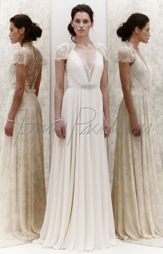 DENTELLE would make a beautiful bridesmaid dress. Too bad it's probably a fortune.