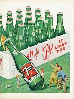 Vintage 1949 7up Print-Ad