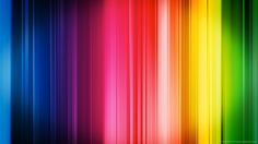 Download 1366x768 Colorful Stripes Wallpaper