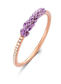 Lavender roségouden ring