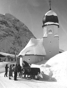Alte Fotos aus Lech - Vintage Vorarlberg -- VOL.AT
