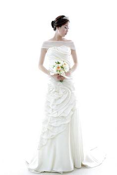 2015년 봄 신상 웨딩드레스 W-25  [라렌느] 셀프웨딩드레스