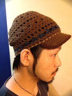 【Tomoknit×fulton】Soil Cap Long (Brown)Free ¥6,400-