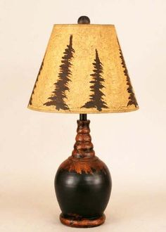 Pretty rustic lamp