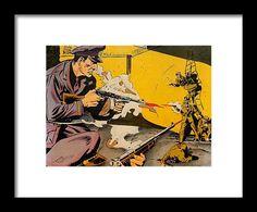 Popart Framed Print featuring the mixed media Prison Break 4 by Otis Porritt