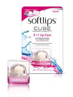 Softlips® : Cube Pomegranate Blueberry @Influenster #voxbox got this from influenster for testing purposes