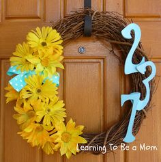 sissy, this should be the next wreath that you make like your autumn one!