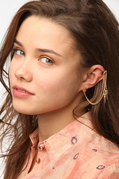 Spikes Cuff Earring  #UrbanOutfitters