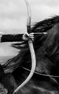 Bow | arrow | horse | archery