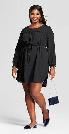 0d67550d150c0 21 Plus Size Black Dresses  with Sleeves  - Plus Size Party Dresses - Plus