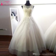 Real Image Wedding Dresses 2017 Lovely A Line Country Plus Size Wedding Bridal Dress Floor Length Cheap Vestidos De Noiva Z361 Short Wedding Dress Unique Wedding Dresses From Rosemarybridaldress, $95.48| Dhgate.Com