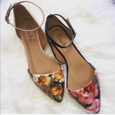 Shop Women's size Various Flats & Loafers at a discounted price at Poshmark. Description: Flats, Material: Patent Faux Leather, Closed Pointed Toe, Beautiful Floral Design, True To Size. Sold by soletatious. Fast delivery, full service customer support.