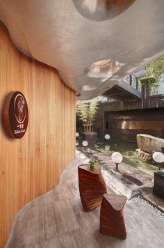 One Taste Holistic Health Club Interior Design
