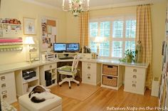 Home Office With Pottery Barn Bedford Furniture