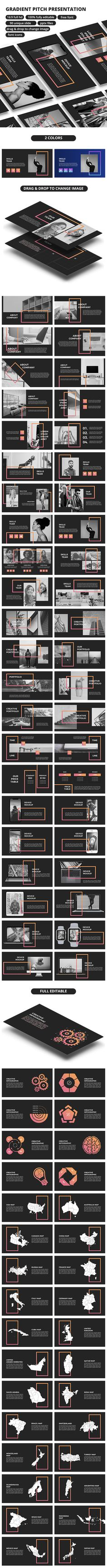 #Gradient #Pitch - #PowerPoint Presentation - Business PowerPoint Templates