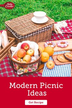 Let our Modern Picnic Ideas serve as your picnic planning checklist. Pin today for fun, outside meals. Picnic Games, Picnic Ideas, Betty Crocker, Kitchen Tips, Holiday Parties, Seasons, Meals, Make It Yourself, Places