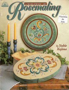Rosemaling - A Worldwide Art 1 - Maria Vai Com AS Artes Neia Reis - Picasa Web Albums...FREE BOOK!!