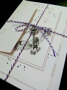 Harry Potter wedding invitations!