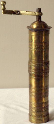 Vintage-Bronze-Coffee-Grinder