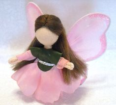 The Silver Penny Fairy Doll