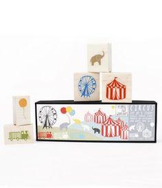 Circus Stamp Set - Yellow Owl Workshop