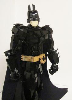 LEGO Dark Knight via GeekTyrant