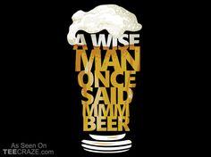 MMM Beer T-Shirt - http://teecraze.com/mmm-beer-t-shirt/ -  Designed by LaughingDevil    #tshirt #art #fashion #Funny