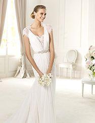Pronovias ti presenta l'abito da sposa Urbina. Fashion 2013. | Pronovias