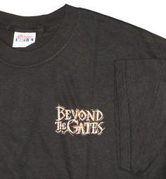 Beyond The Gates Mincaye God's Carvings T-shirt L NW #HanesBeefy #TShirt