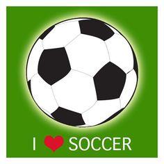 I love soccer!! :)